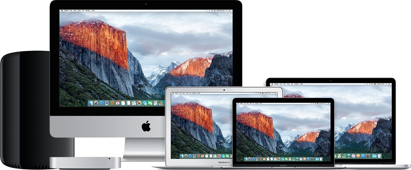 Mac lineup