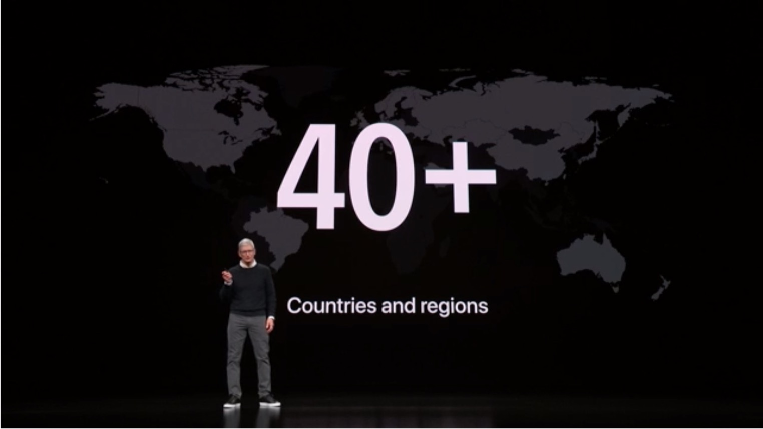 Apple Keynote Mars 2019