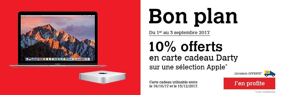 Mac promo Darty