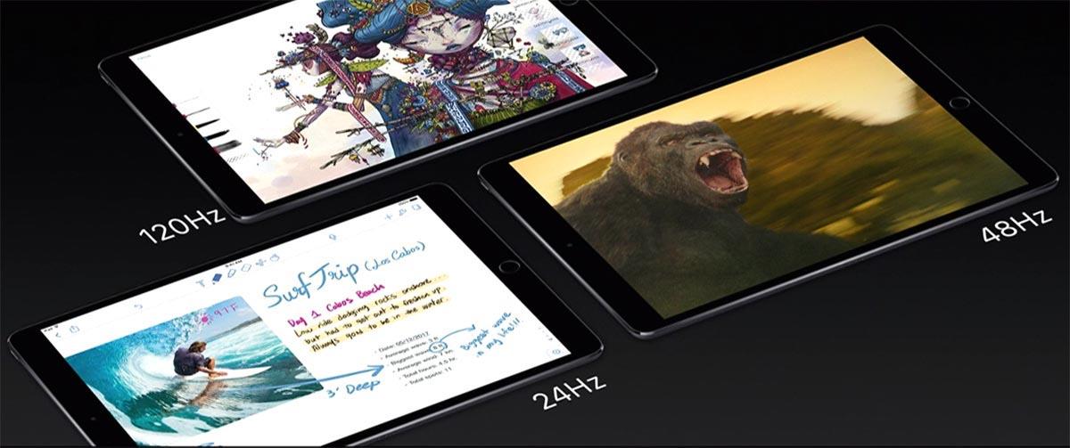 iPad Pro ProMotion 120Hz