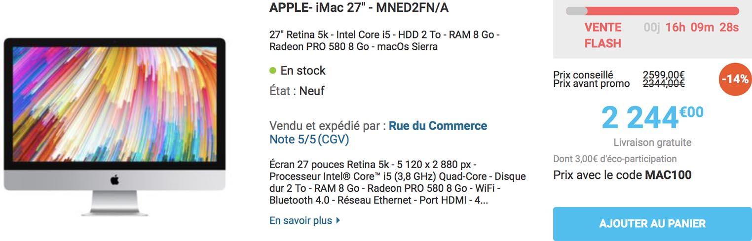 iMac Retina 5K Rue du Commerce