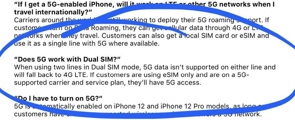 iPhone 5G Dual SIM