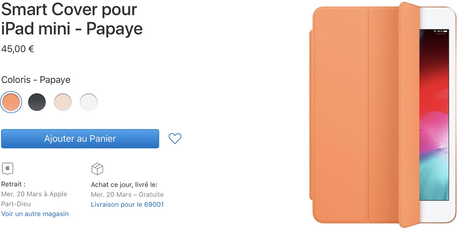 Smart Cover iPad mini 5