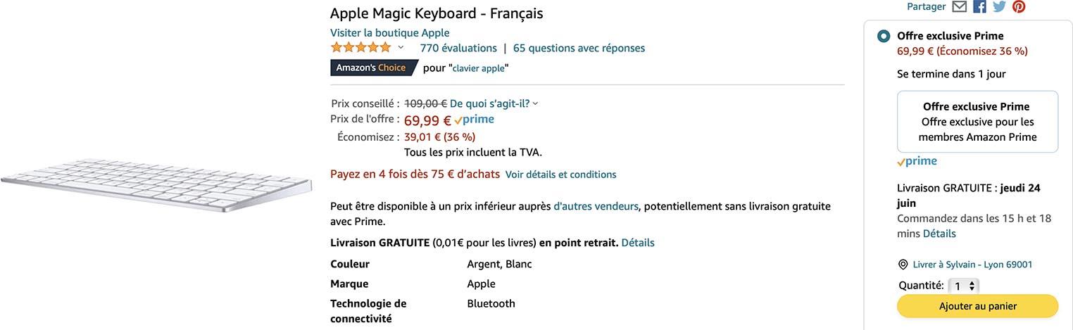 Magic Keyboard Prime Day