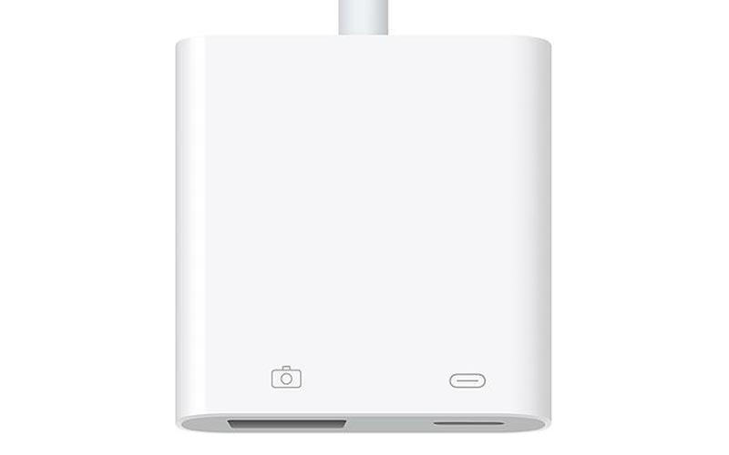 L'adaptateur Lightning vers USB 3 d'Apple à -44%