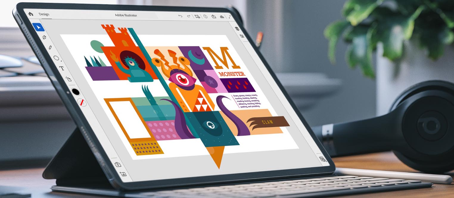 Adobe Illustrator iPad 2020