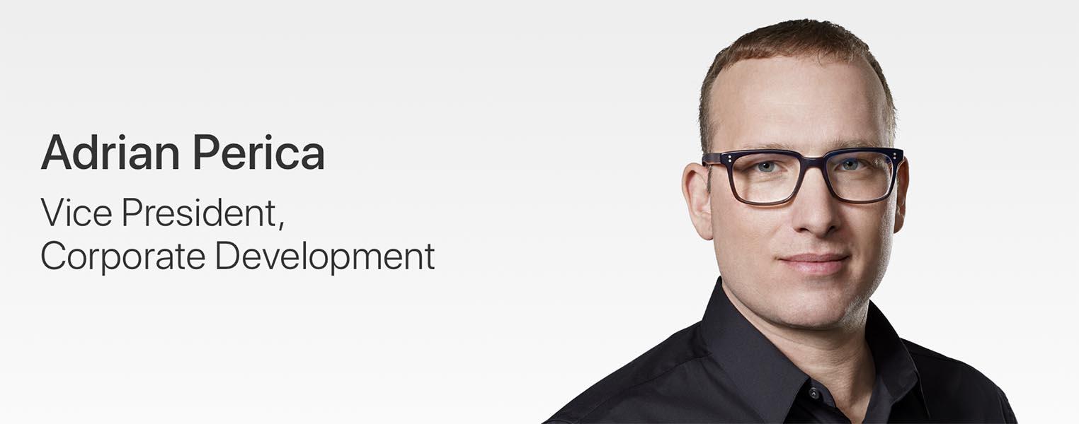 Adrian Perica Vice-Président Apple