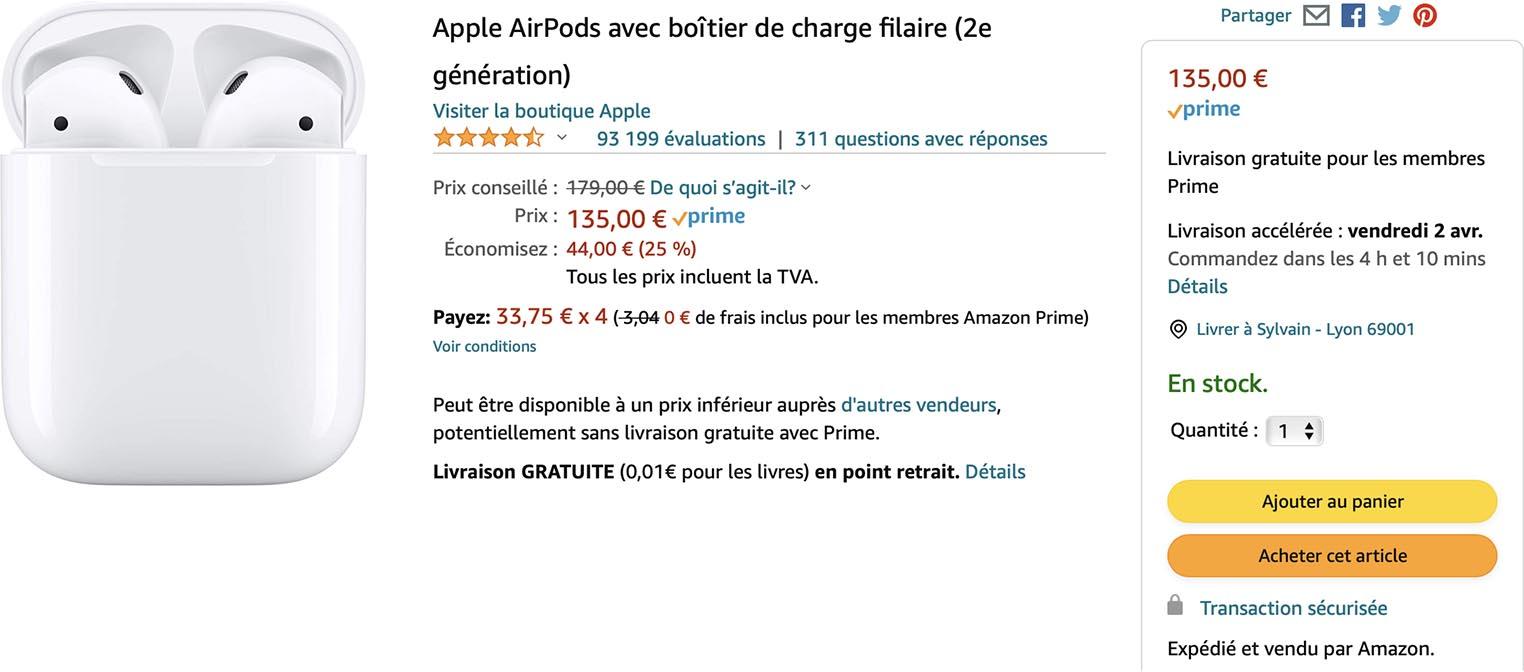 AirPods 2 Amazon