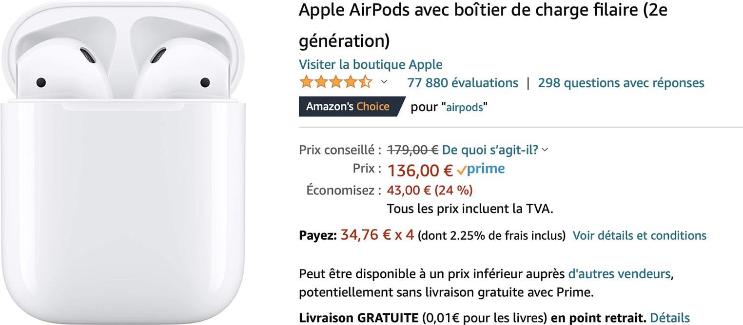 AirPods promo Amazon