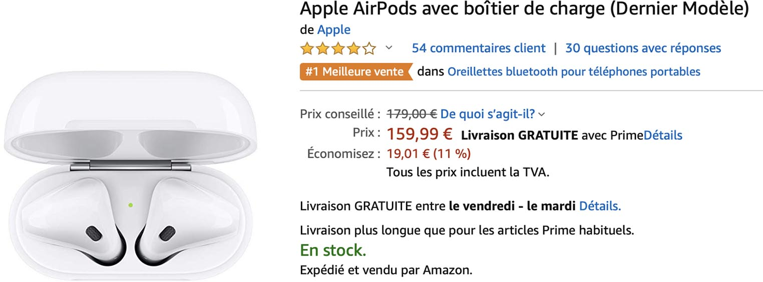 Promo AirPods Amazon