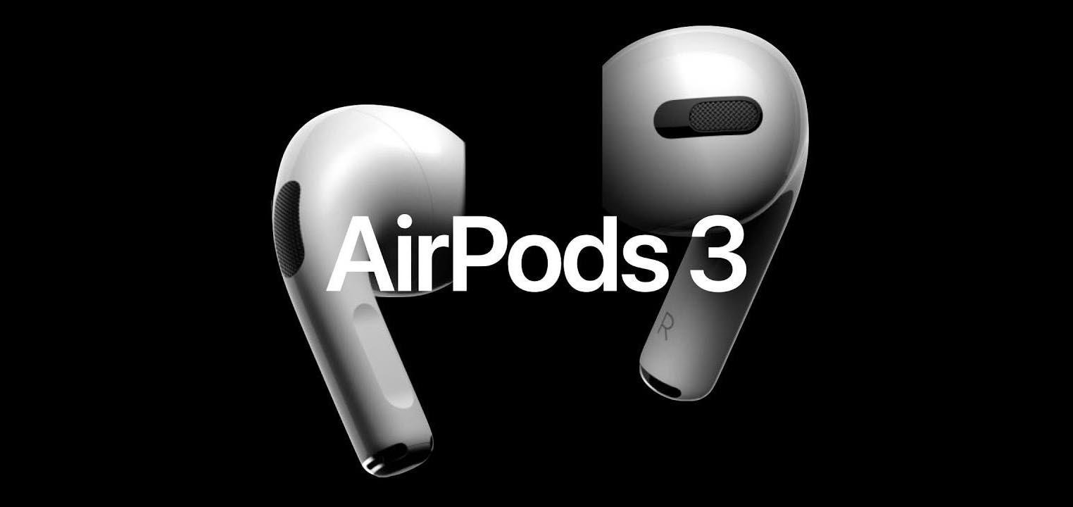 Rendu AirPods 3