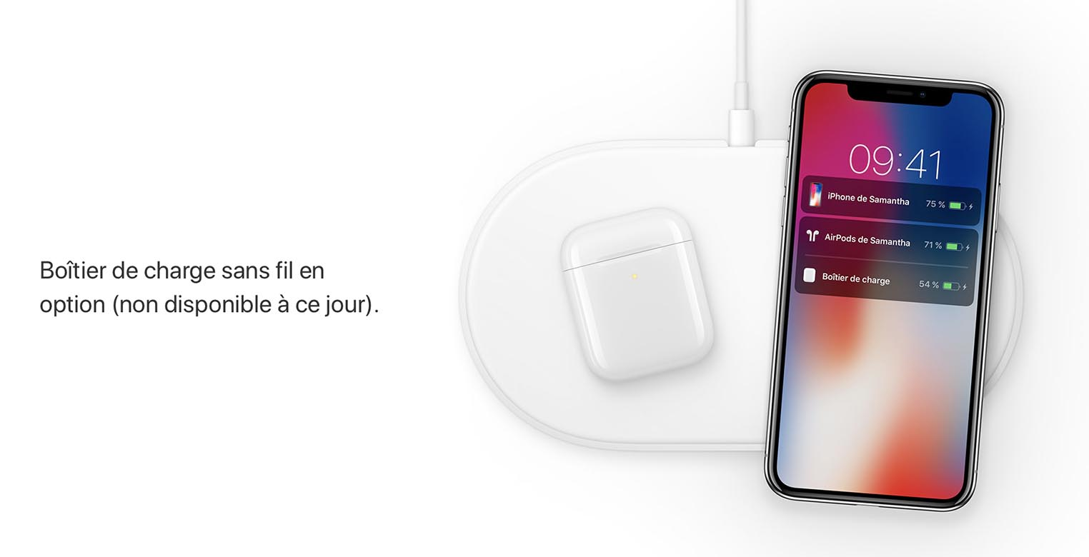 AirPods iPhone X AirPower