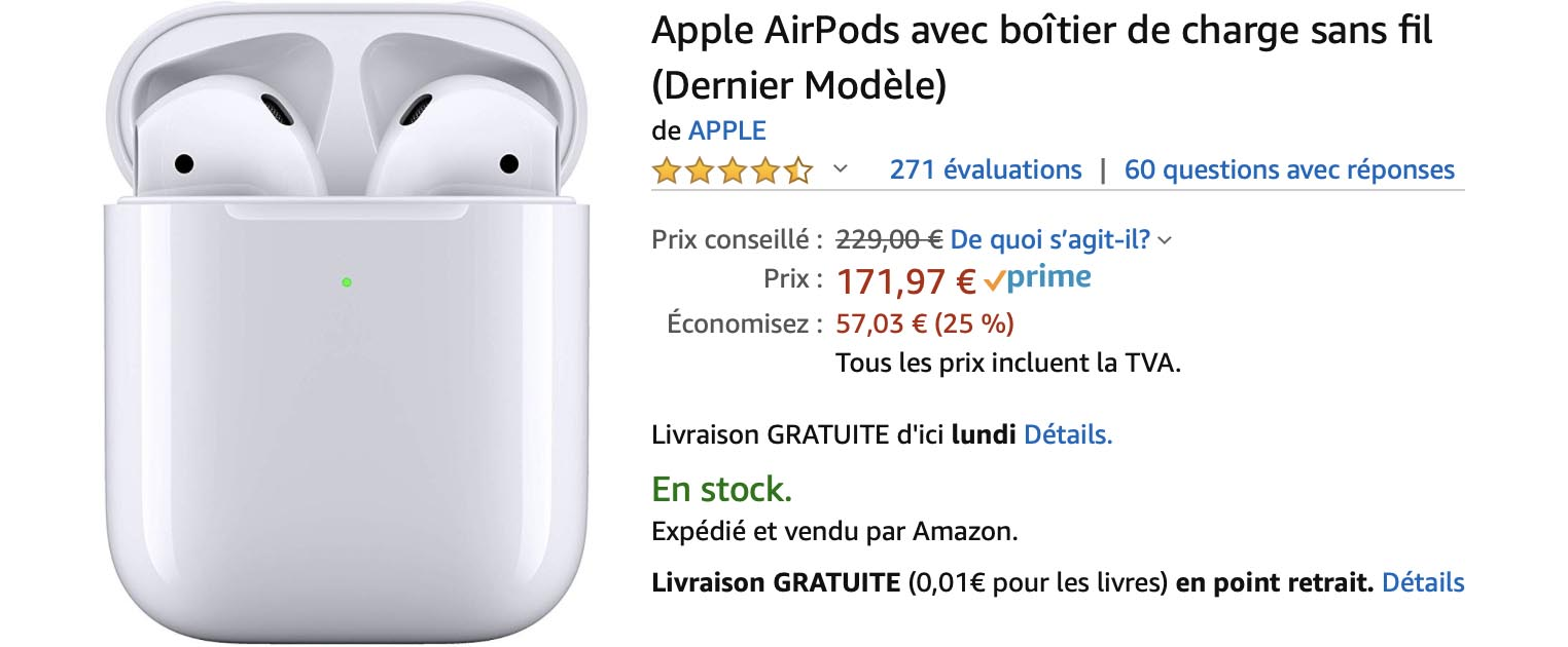 Consomac Black Friday Week Promos Sur Les Airpods Chez