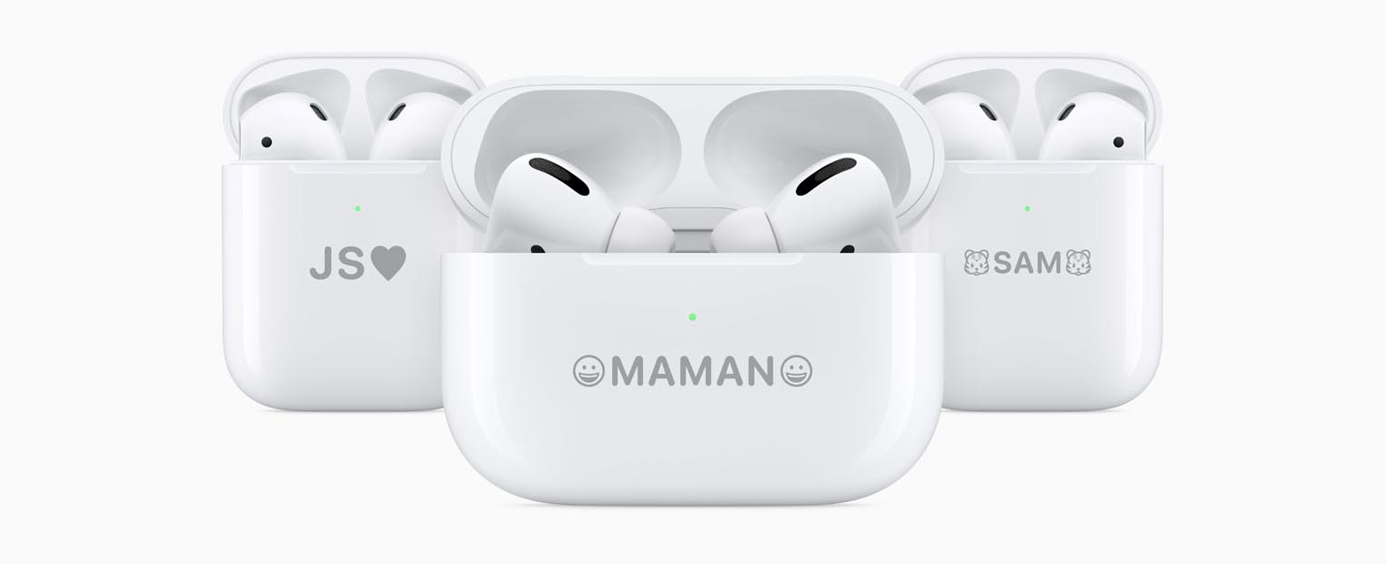 AirPods AirPods Pro gravure