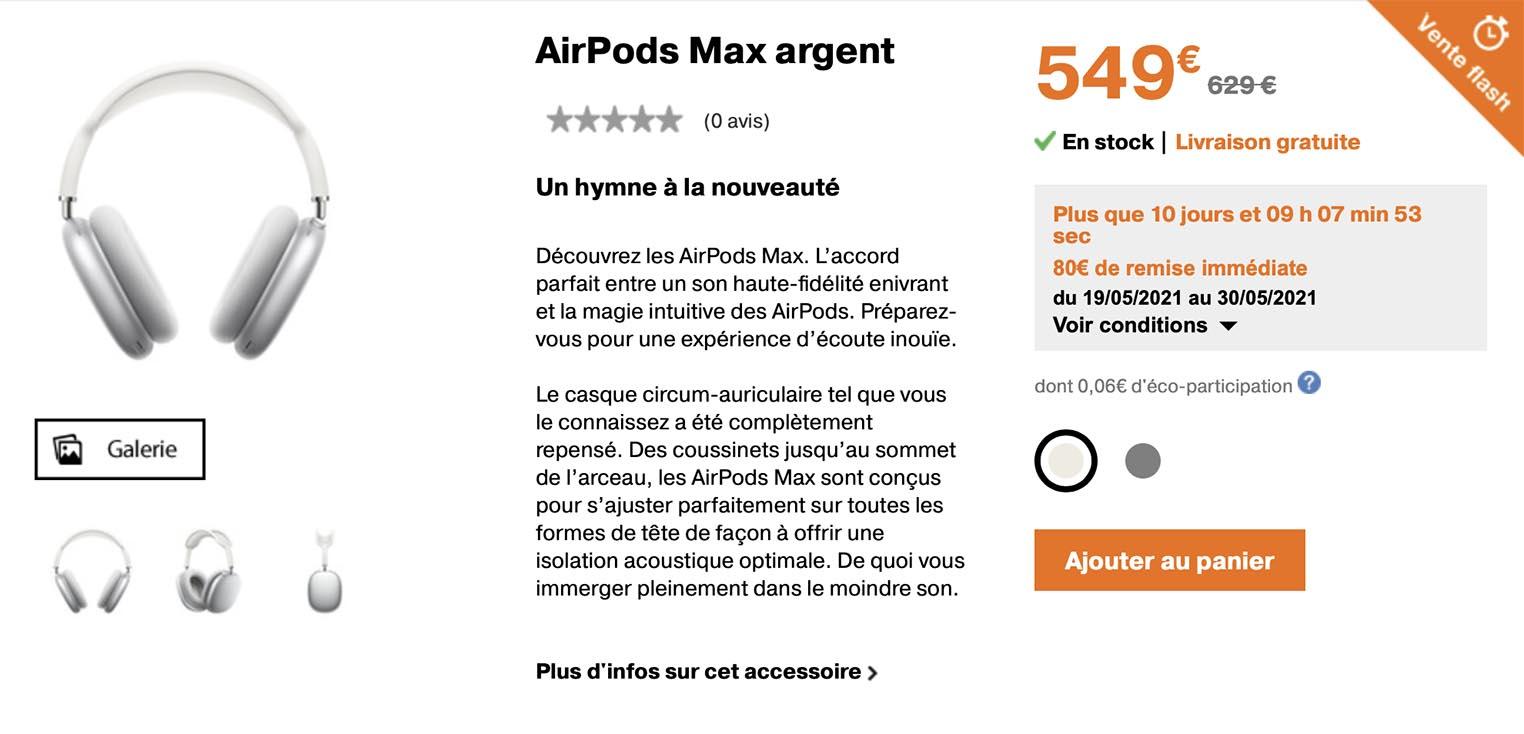 AirPods Max Orange