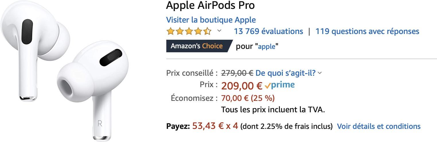 AirPods Pro promo Amazon