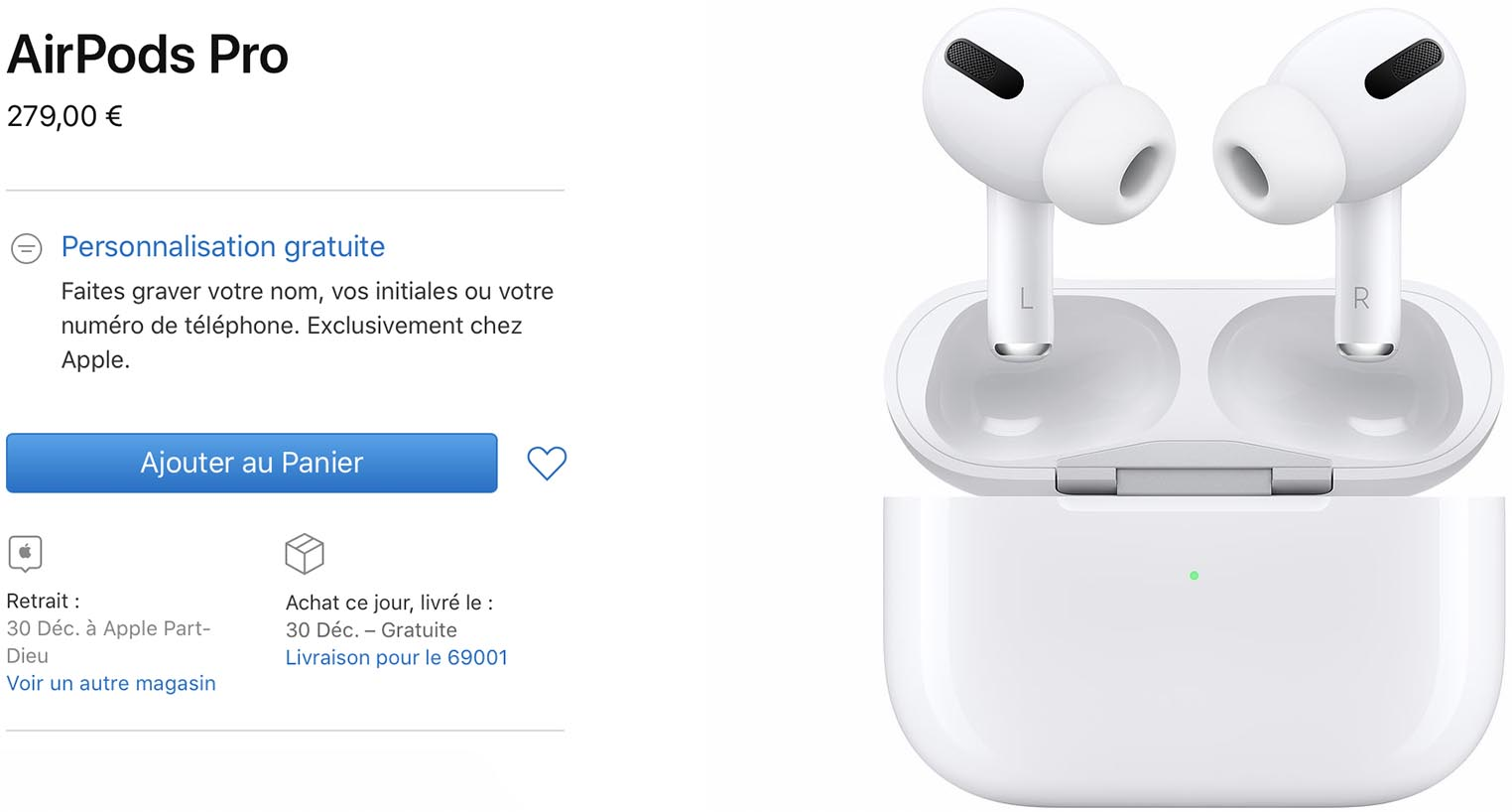 AirPods Pro Apple Store