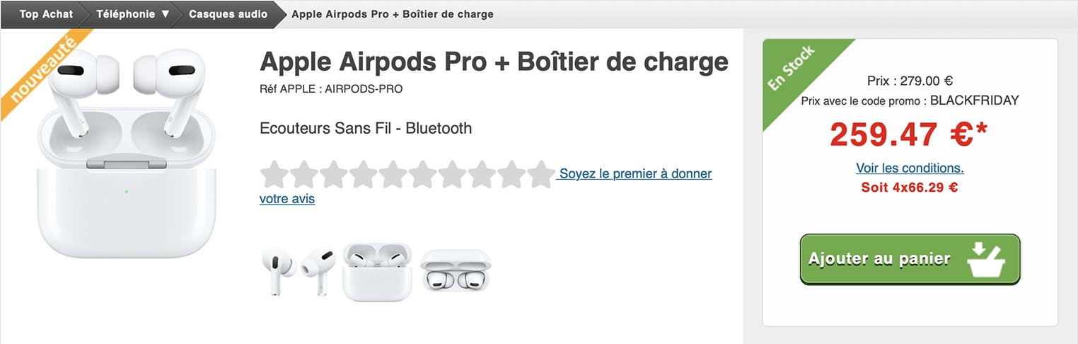 AirPods Pro Top Achat