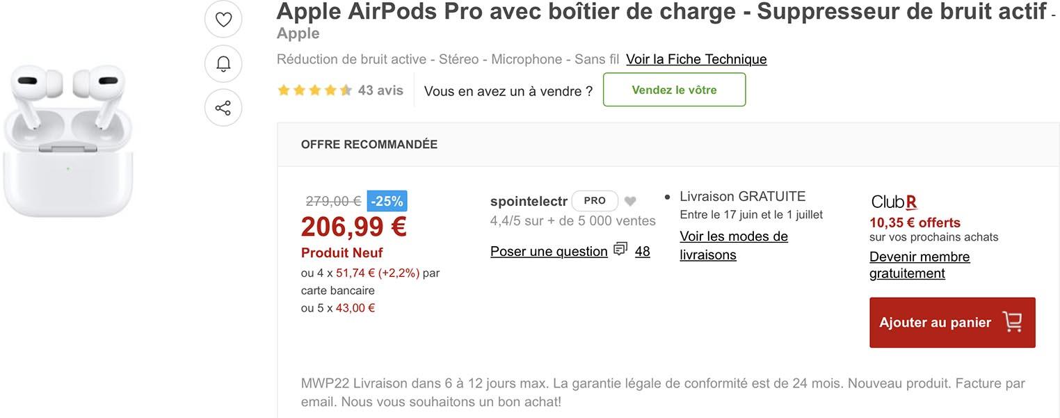 AirPods Pro Rakuten