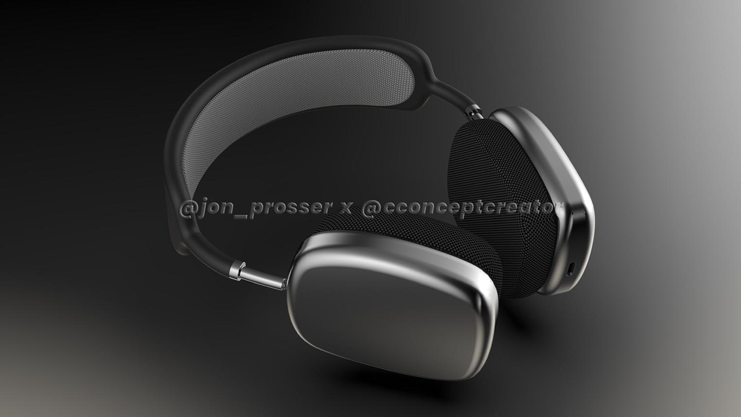 Rendu 3D AirPods Studio