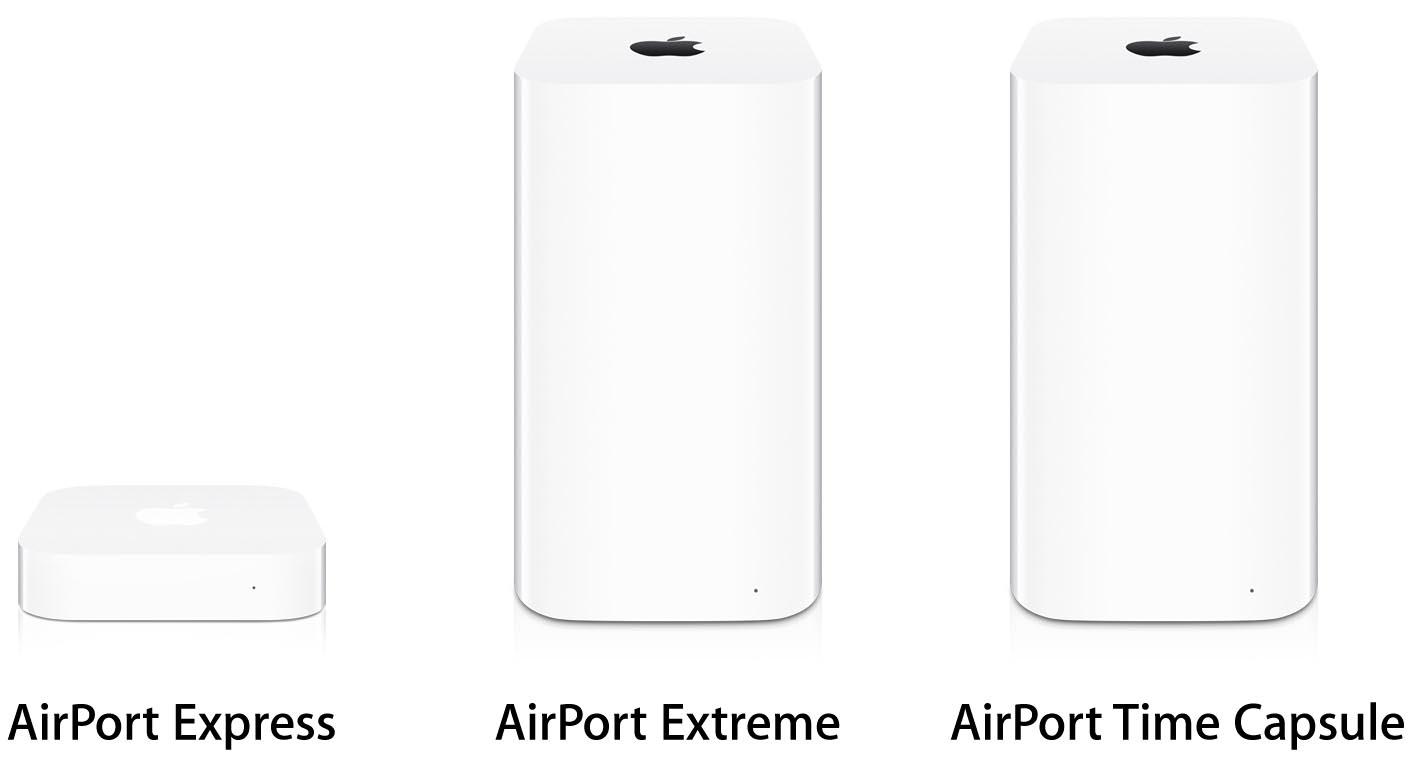Bornes AirPort