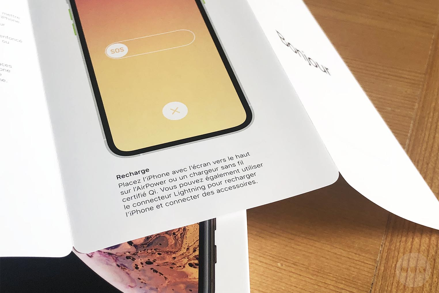 AirPower iPhone XS