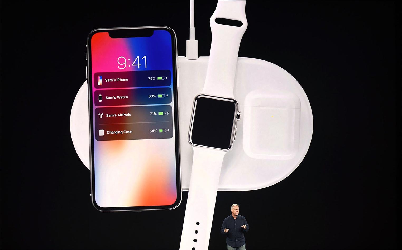 AirPower keynote Phil Schiller