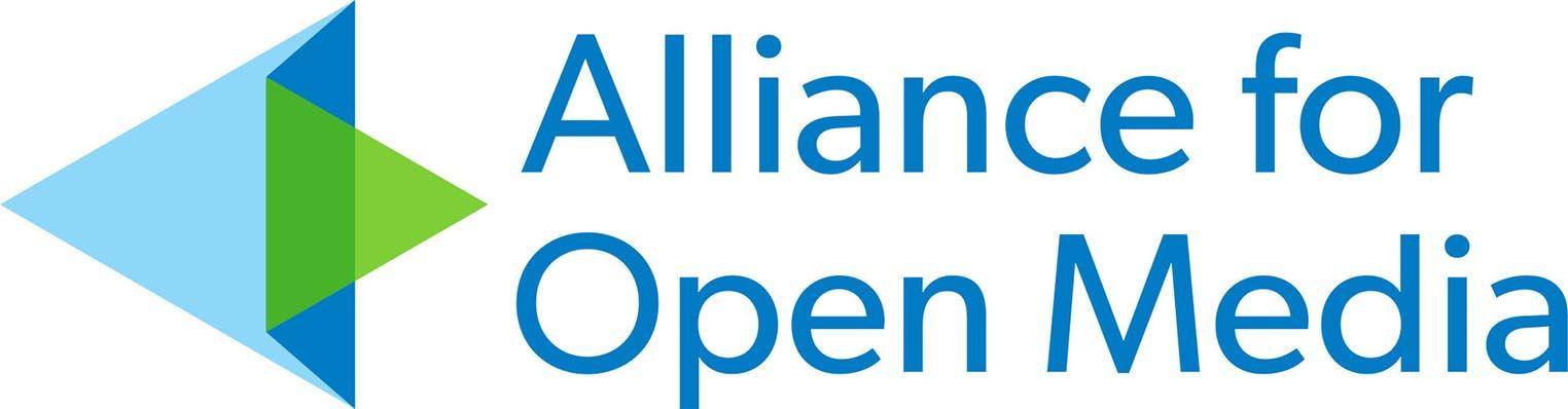Logo Alliance for Open Media