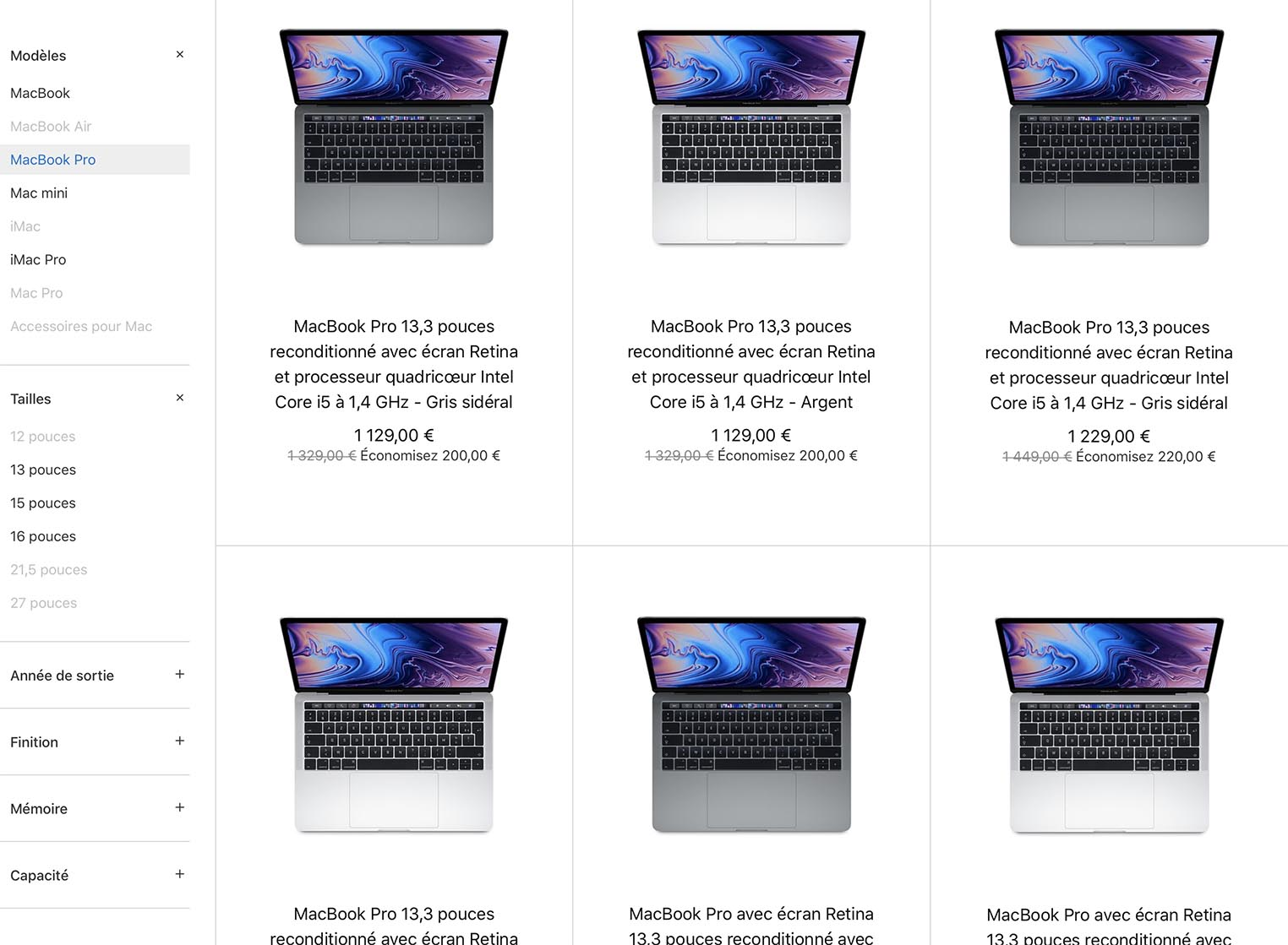 MacBook Pro 2019 Refurb Store