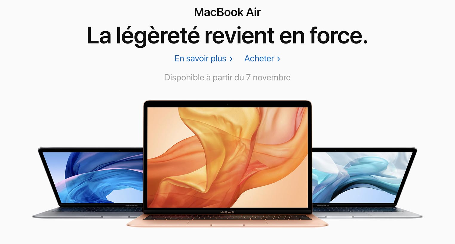 MacBook Air 2018 Apple Store