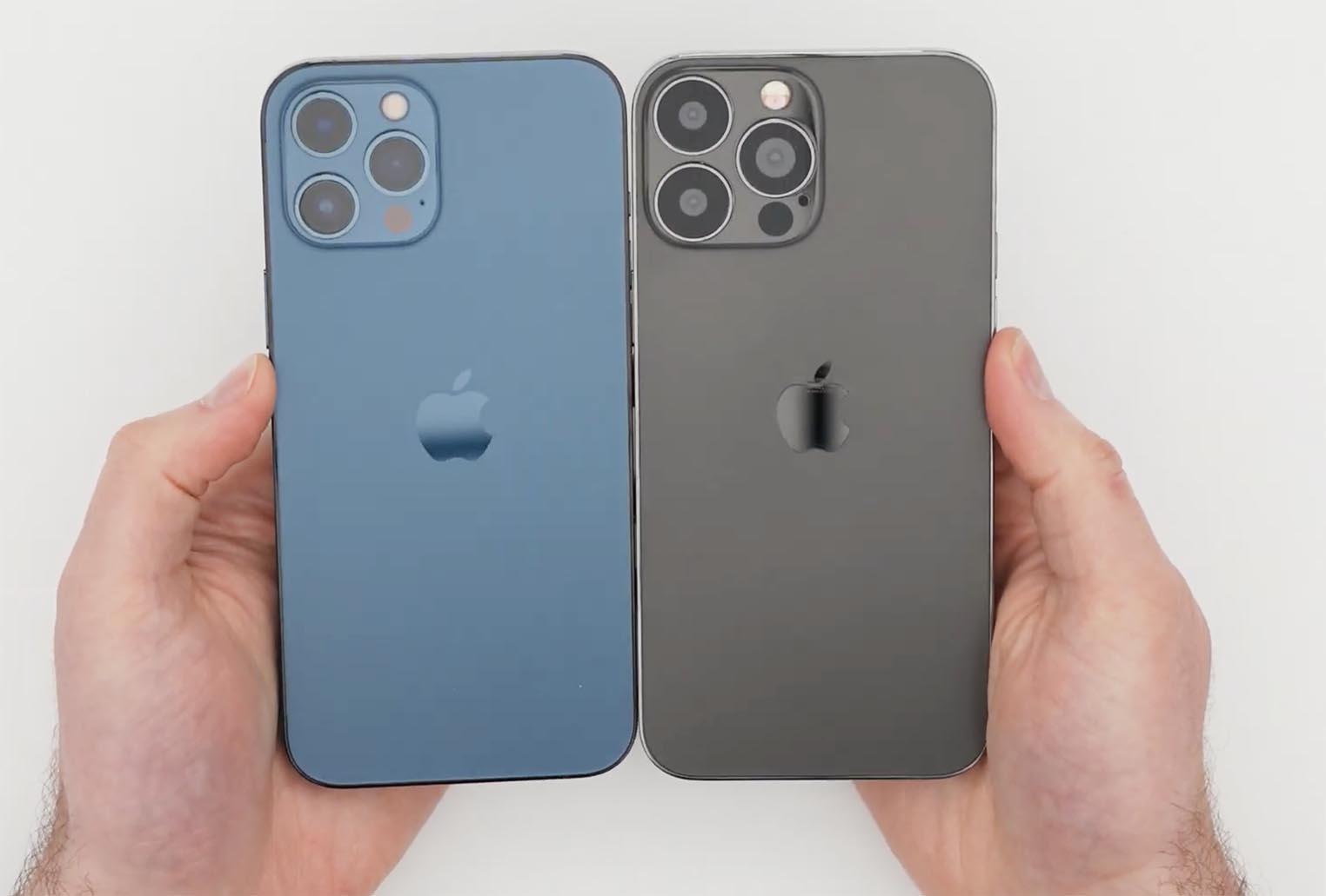 Maquette iPhone 13 Pro Max