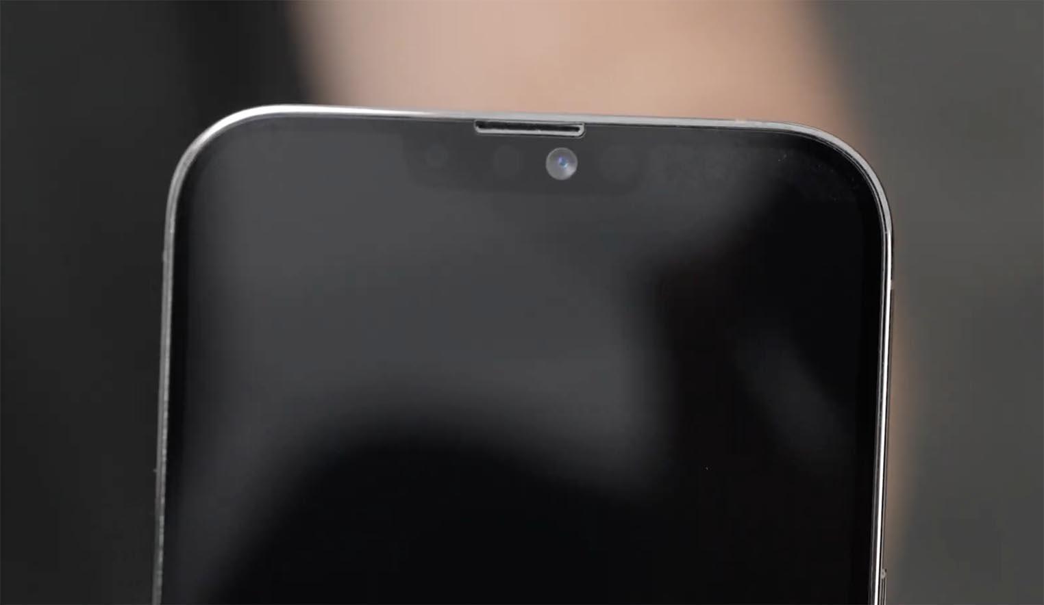 Maquette iPhone 13 Pro Max encoche