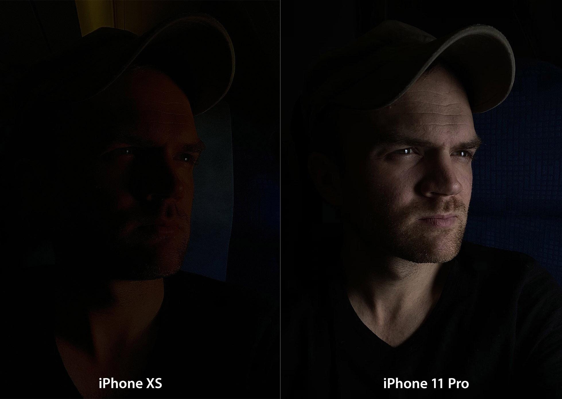 Mode nuit iPhone 11 Pro