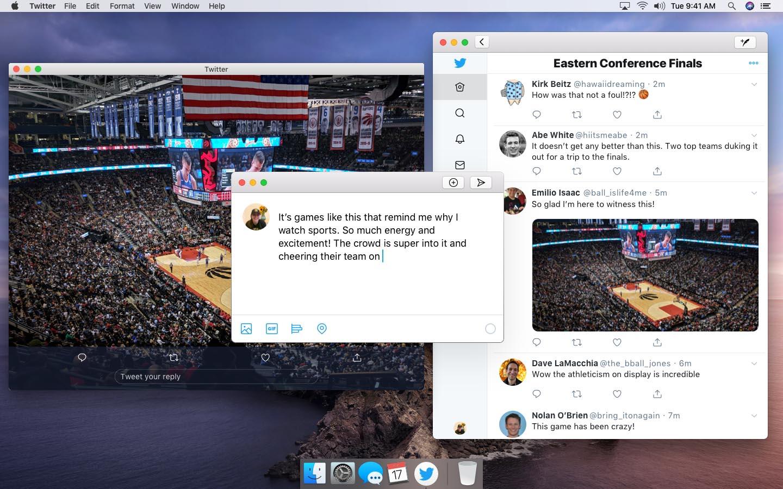 Twitter Mac projetct Catalyst