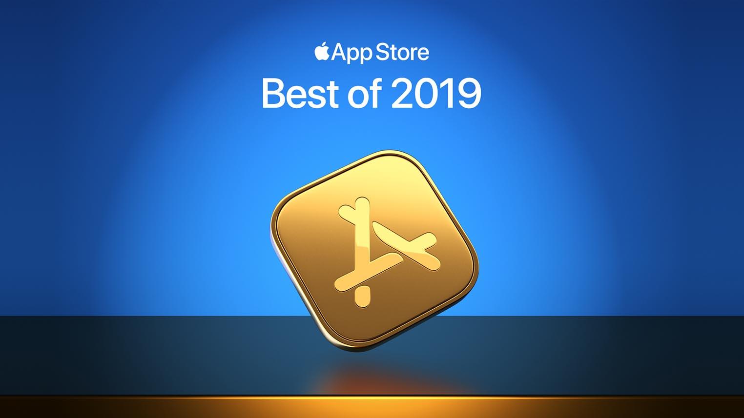 Applications de l'année 2019 App Store