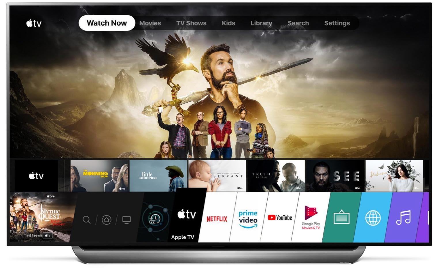 App TV Apple LG