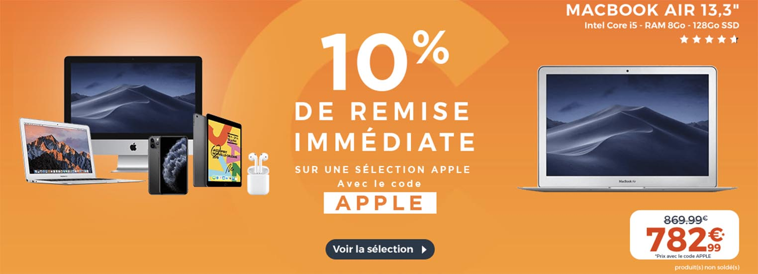 Apple CDiscount