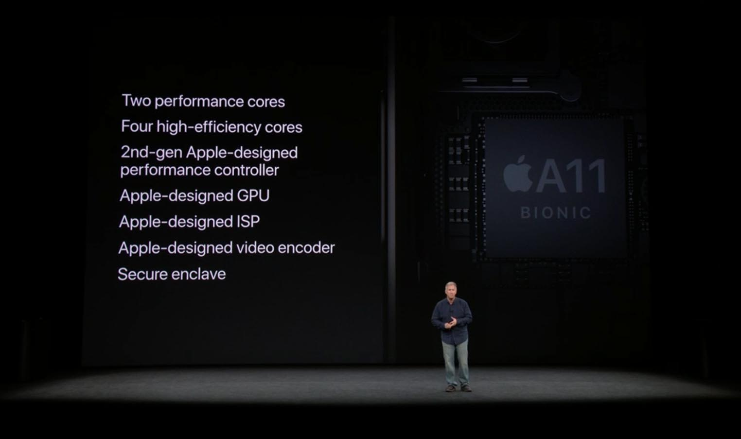 Apple A11 keynote