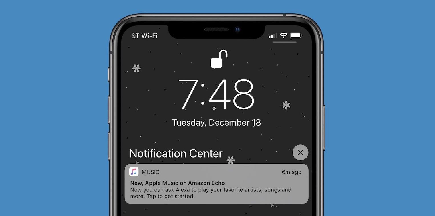 Apple notifications pub