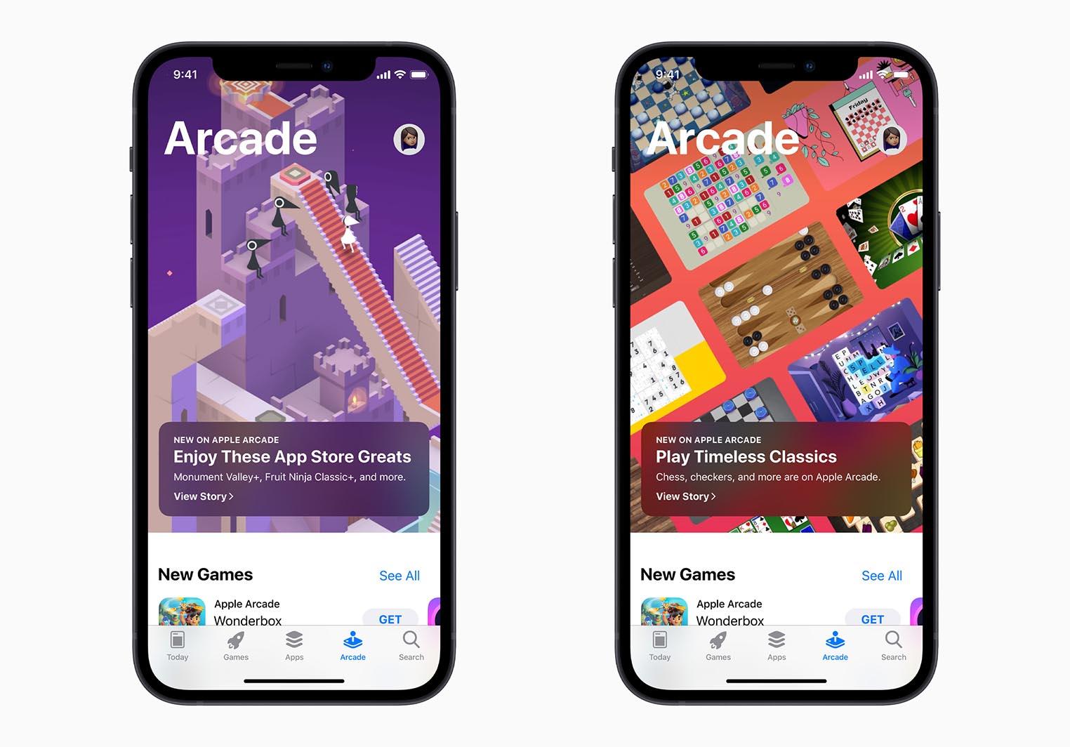 Apple Arcade nouveaux jeux
