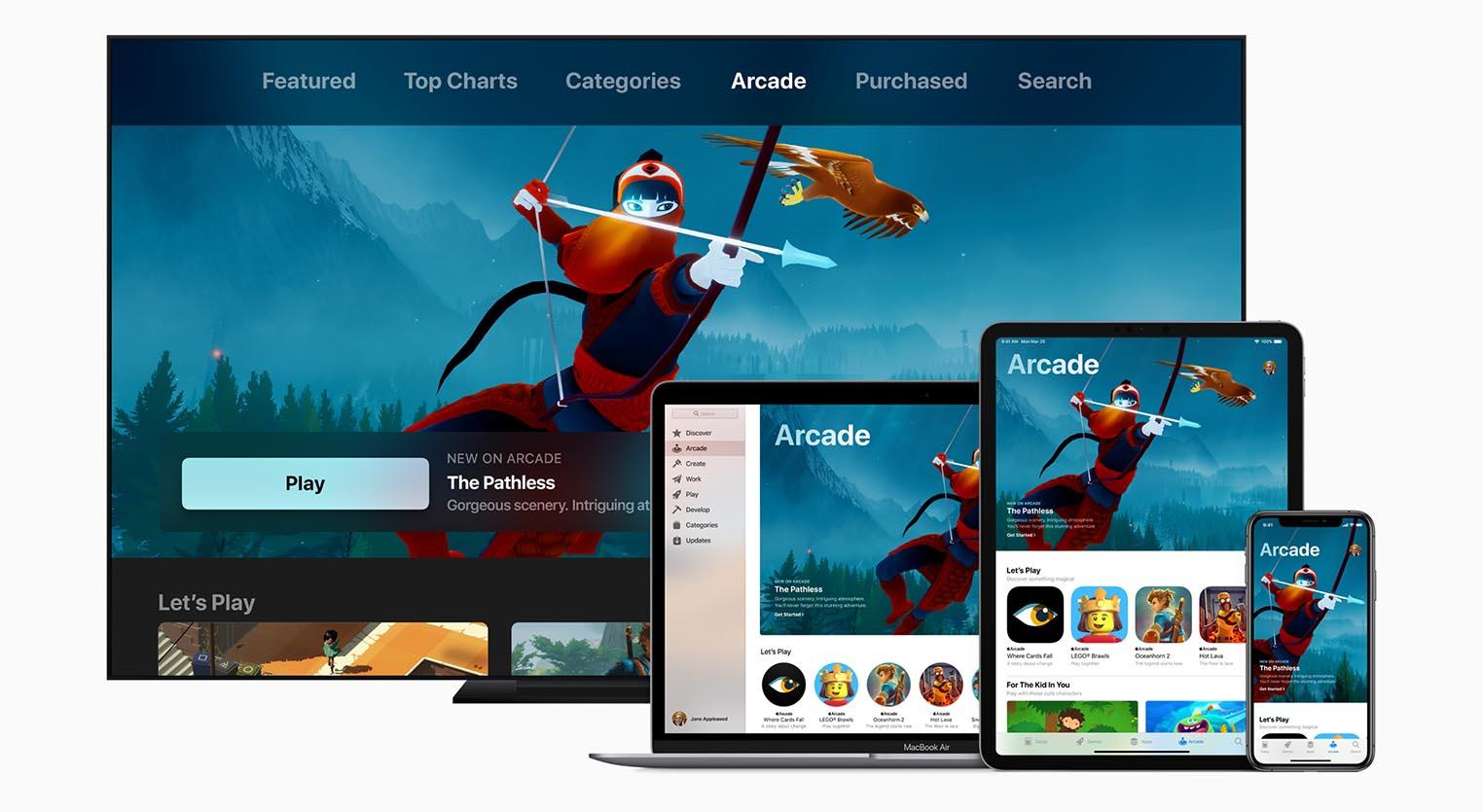 Apple Arcade disponible