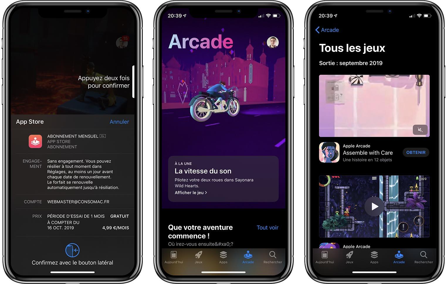 Apple Arcade iOS 13