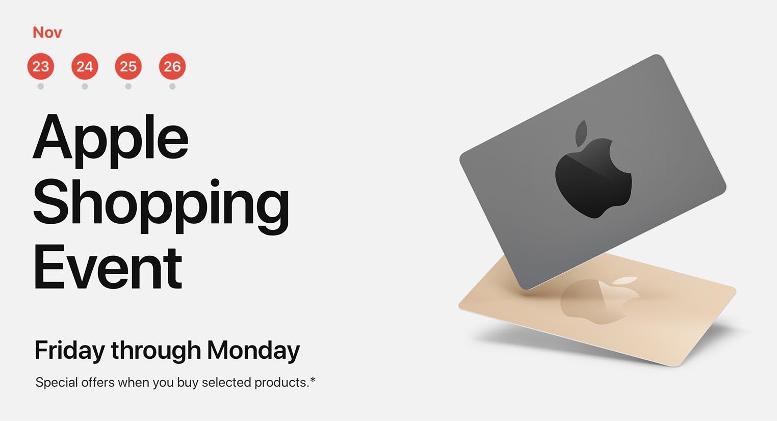 Apple Black Friday 2018 Australie