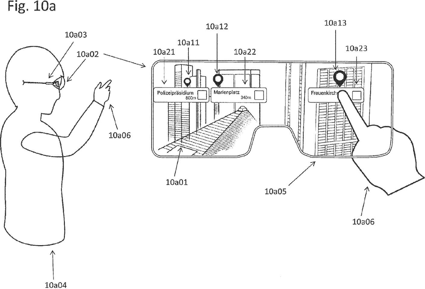 Lunettes connectées Apple brevet