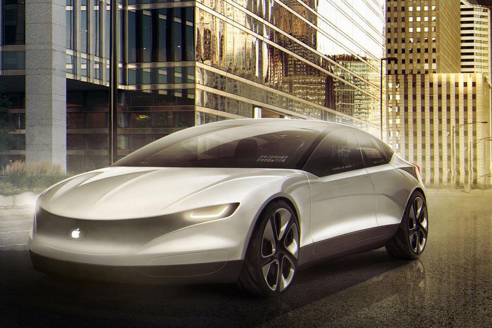 Apple Car 3D concept