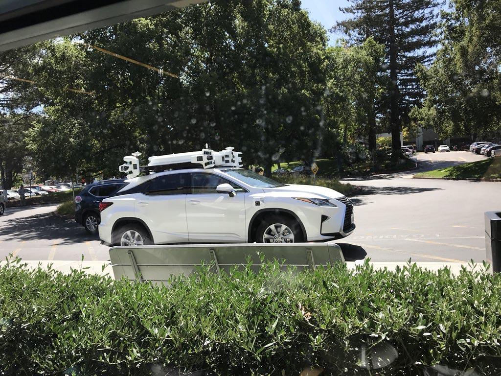 Apple Car tests