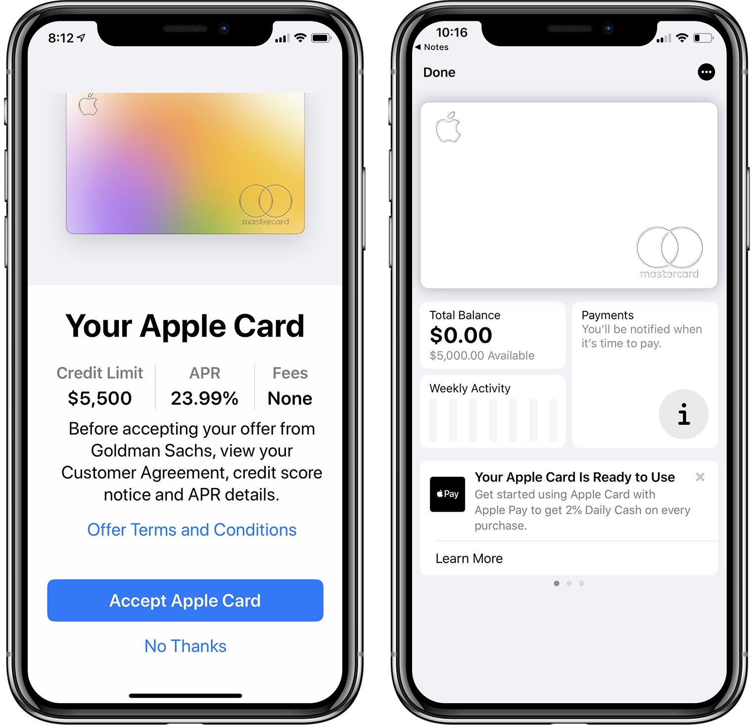 Apple Card FICO
