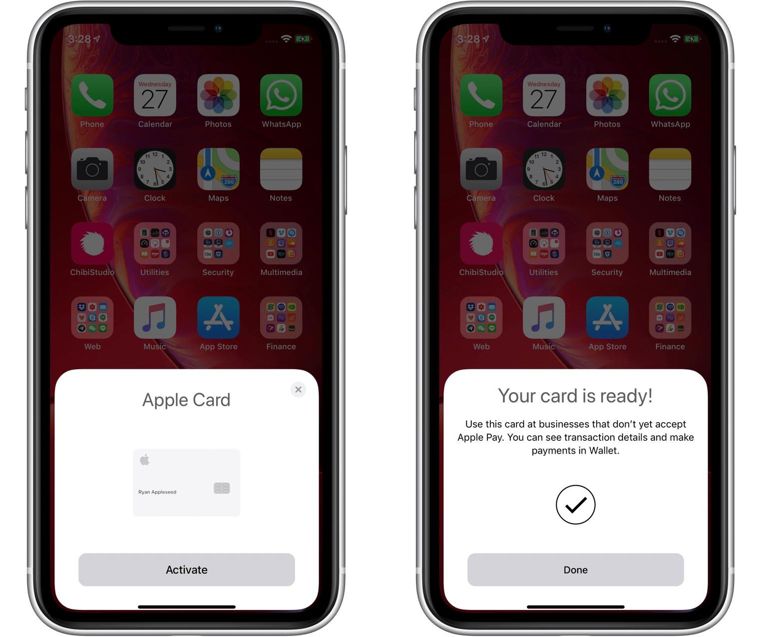 Apple Card iOS 12.3