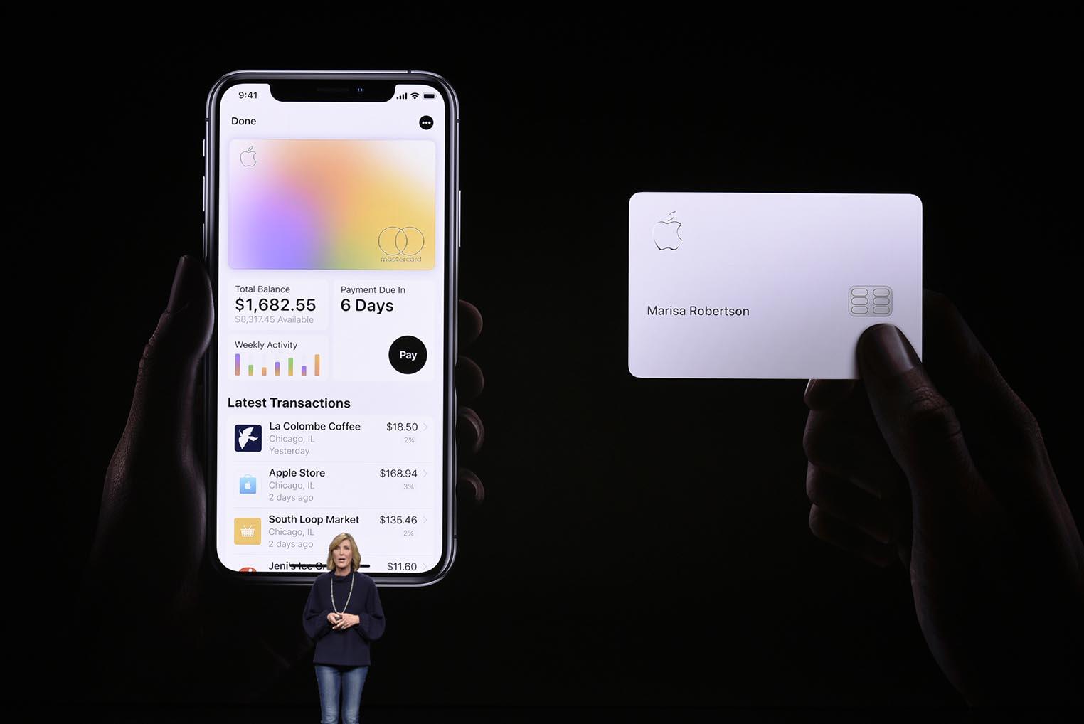 Apple Card keynote