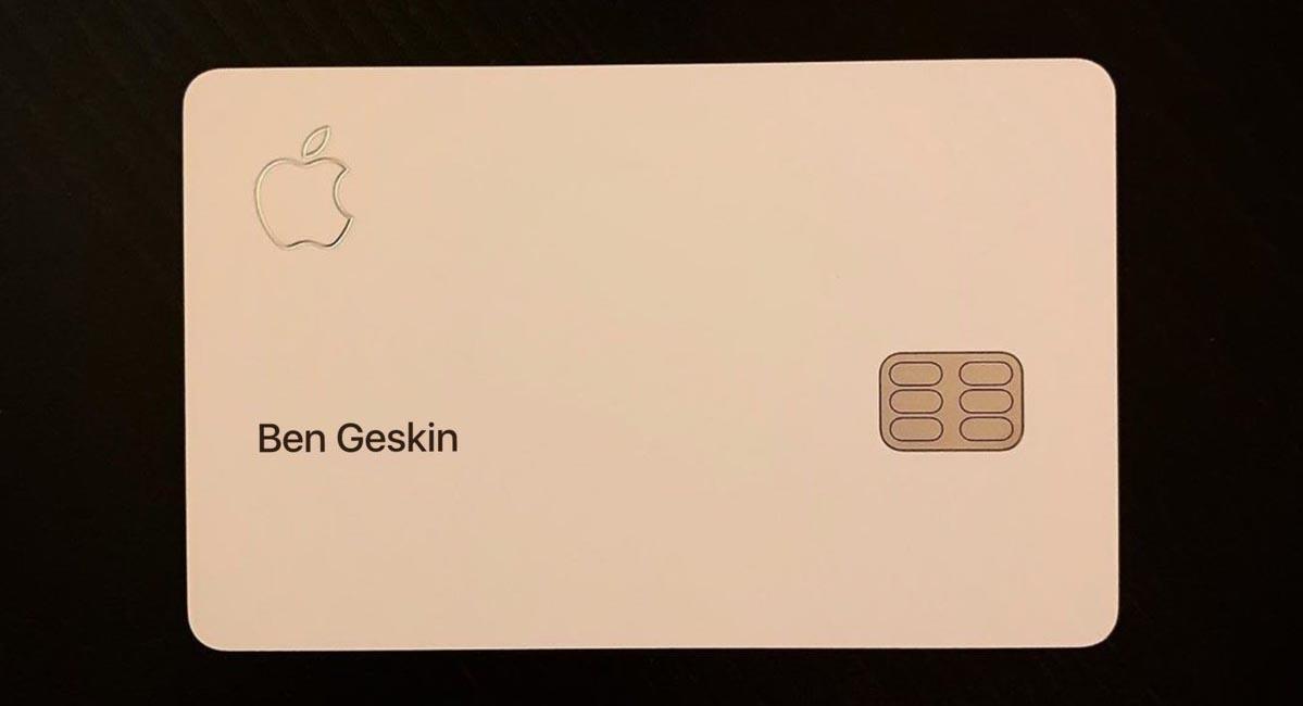 Apple Card photo volée